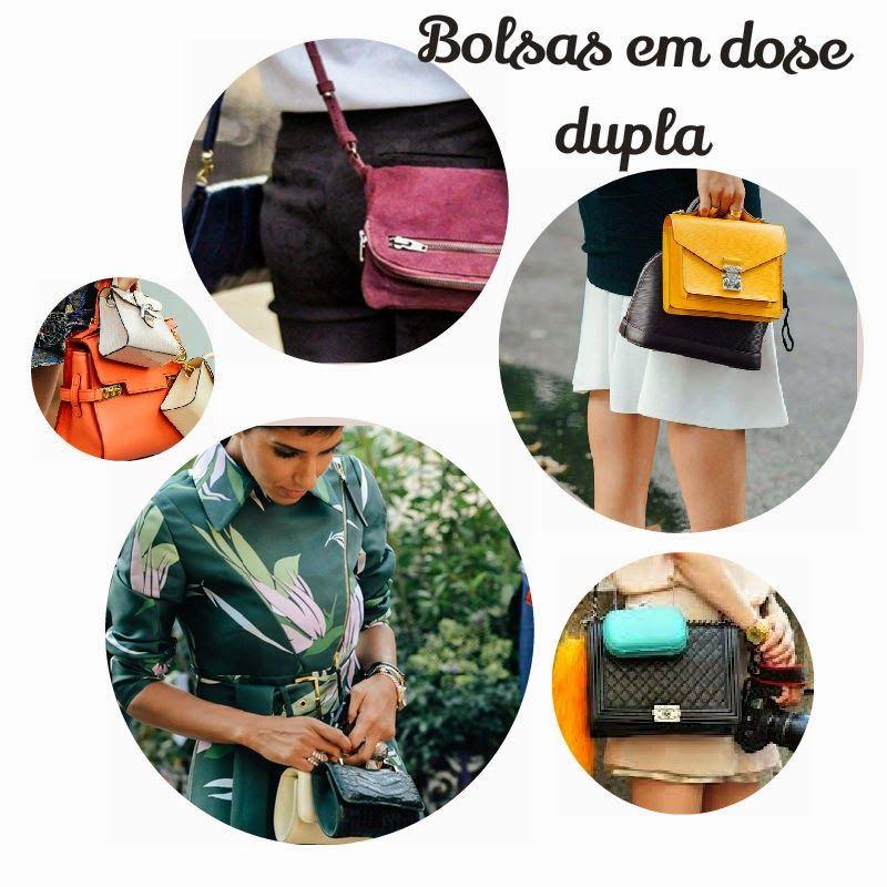 BOLSAS PEQUENAS EM DOBRO