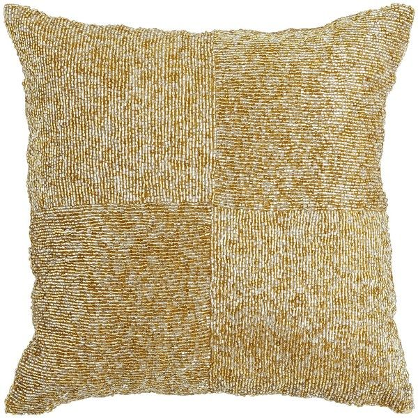 Pier One Decorative Pillows Pier 1 Imports Beaded Box Pillow 4522 Kwd ❤ Liked On Polyvore