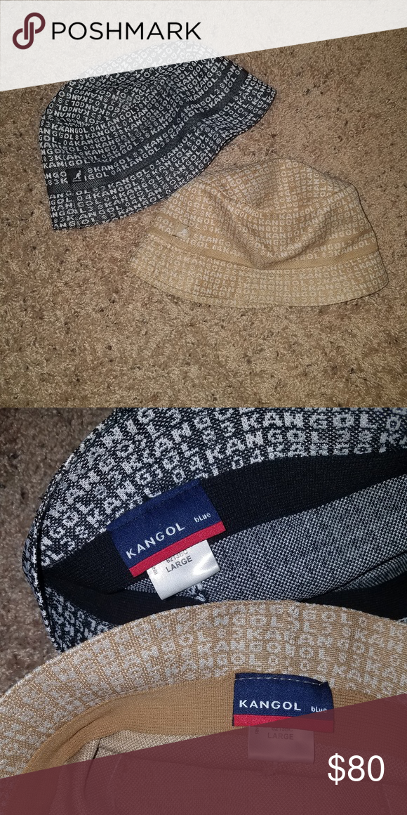 2 Vintage Kangol hats Size large In good condition barely worn old school  hats. Kangol Accessories Hats 0b2bc0251259