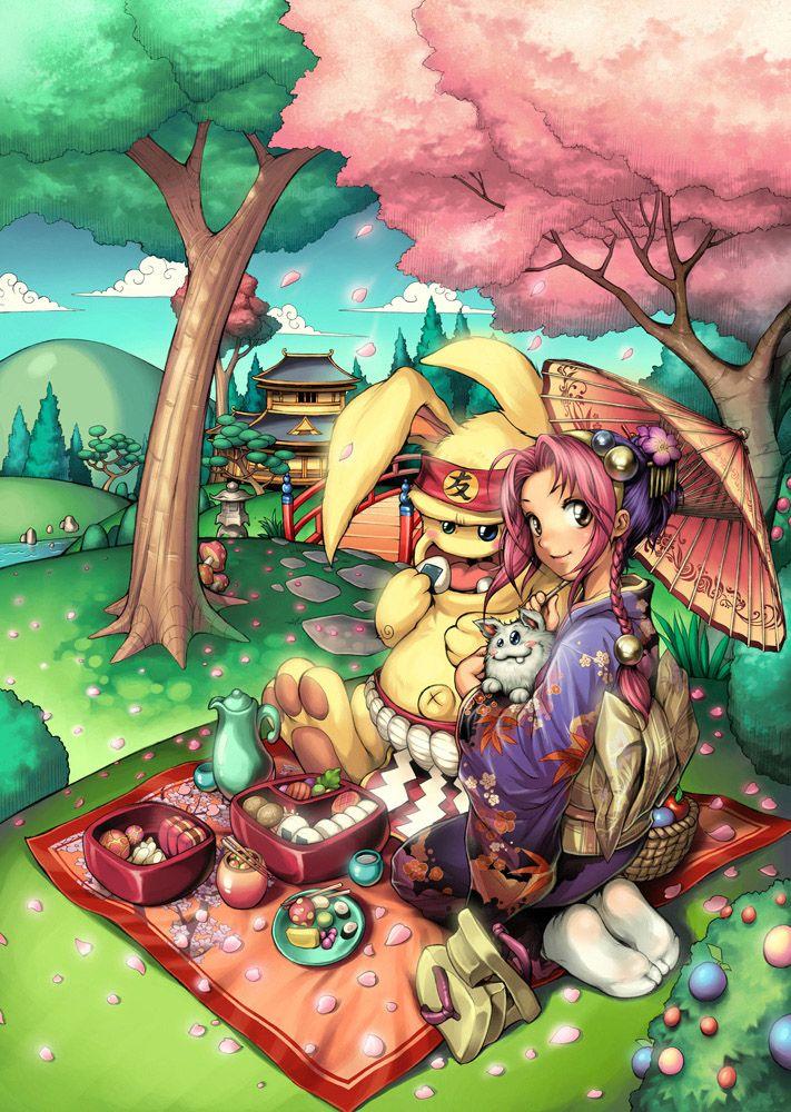 Olá pessoal! Desenho de mascotes feito para o cartaz de divulgação do evento Anime Friends 2008. Arte-finalizado à lapis e pintado no Photoshop. Espero q curtam! Criticas constr...