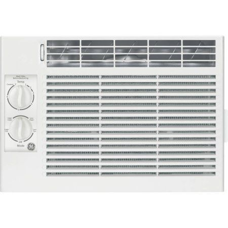 General Electric 5 000 Btu Window Air Conditioner 115v Ge Aey05lv Walmart Com In 2020 Compact Air Conditioner Air Conditioner Btu Window Air Conditioner