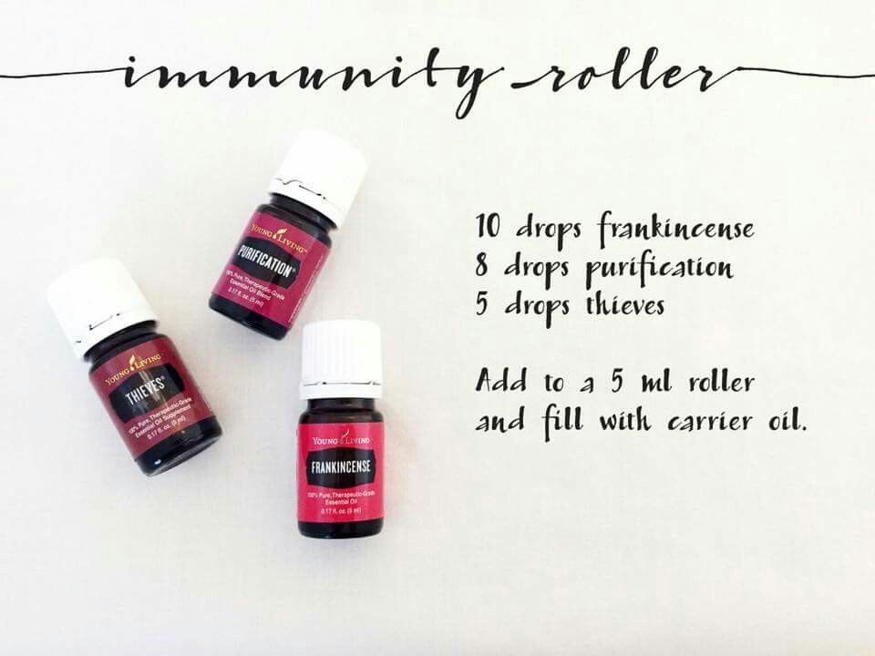 Immunity roller   Essential oils - young living   Immunity ...