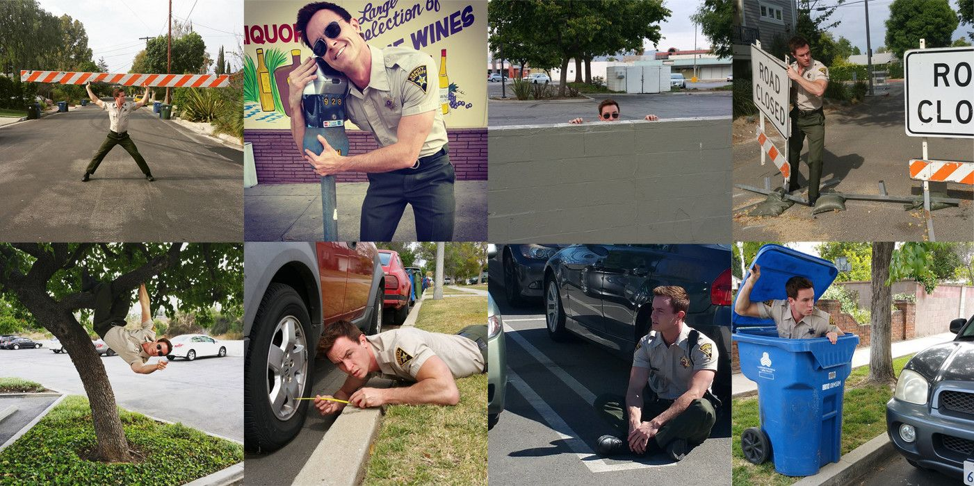 If you follow Ryan Kelley, who plays the esteemed hellhound Deputy Jordan Parrish, then you already know he is basically a god on Instagram.