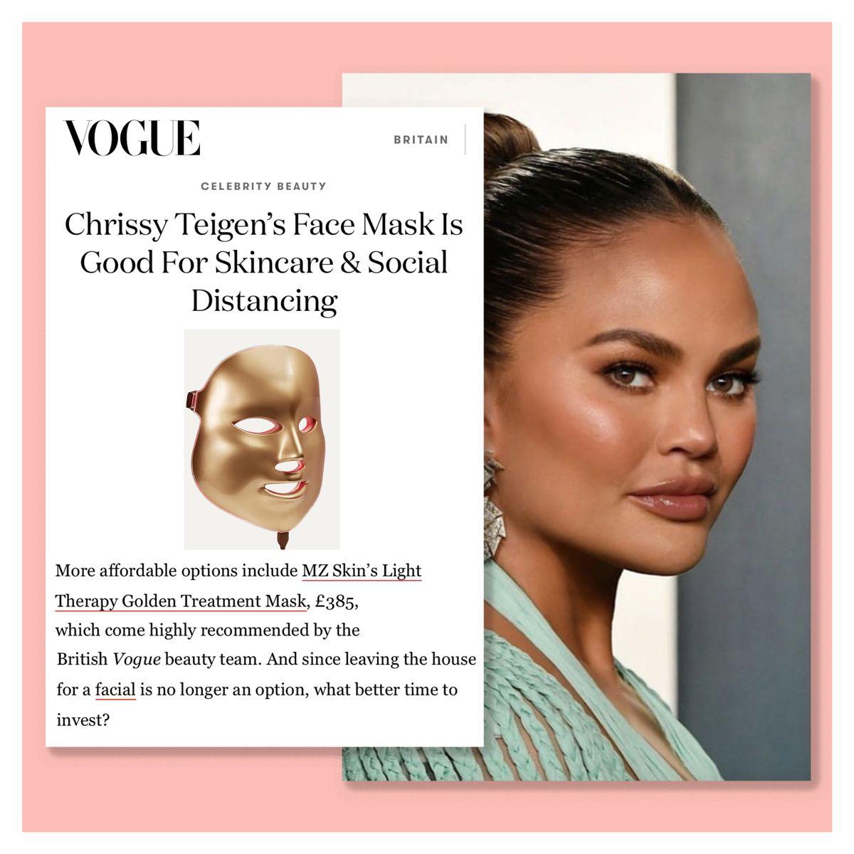 Photo of Chrissy Teigen macht Hautpflege & soziale Distanzierung | Britische Vogue