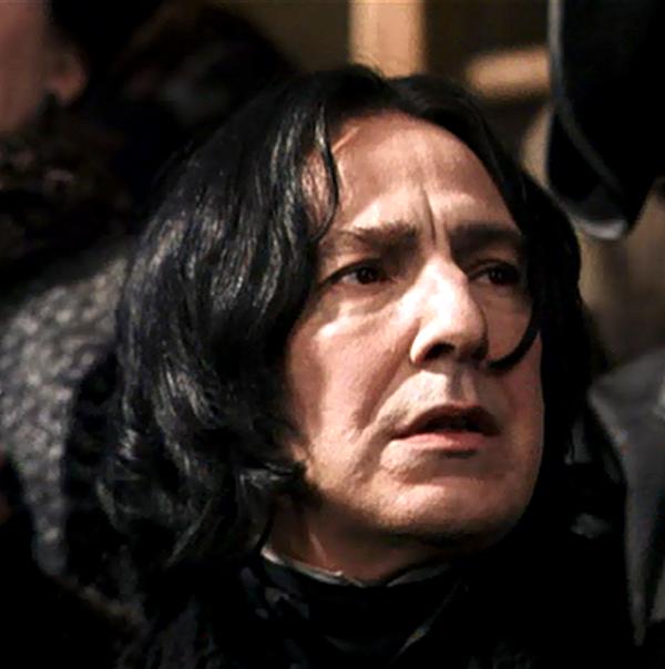 Snape S My Hero Snape Harry Potter Film Harry Potter Icons