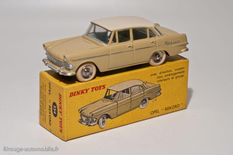 Berline 554 Dinky Toys Opel Rekord 1960Miniature fgy6b7