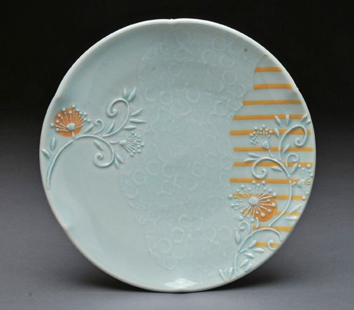 Tales of a Red Clay Rambler: Carter Pottery: Guest Blogger Kristen Kieffer talks about Oribe Ware