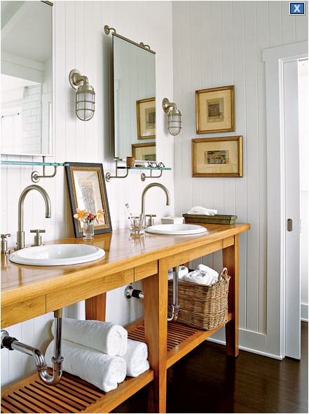 Photos On cabin wainscoting ideas style bathroom design ideas cottage style bathroom design ideas