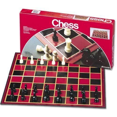 Pressman Toy Chess Set Board Game « Game Searches Board Games - chess score sheet