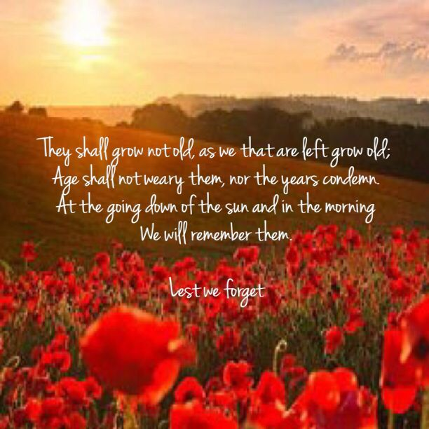 Lest We ANZAC Day Remembrance day quotes