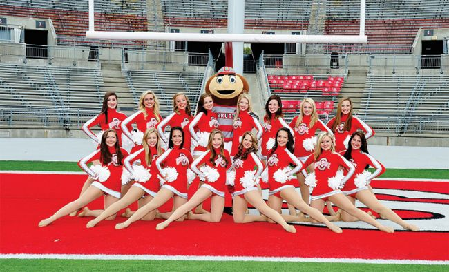 The Ohio State University Official Athletic Site The Ohio State University Official Athletic Site Spirit Cheer Poses Dance Team Photos Cheer Picture Poses
