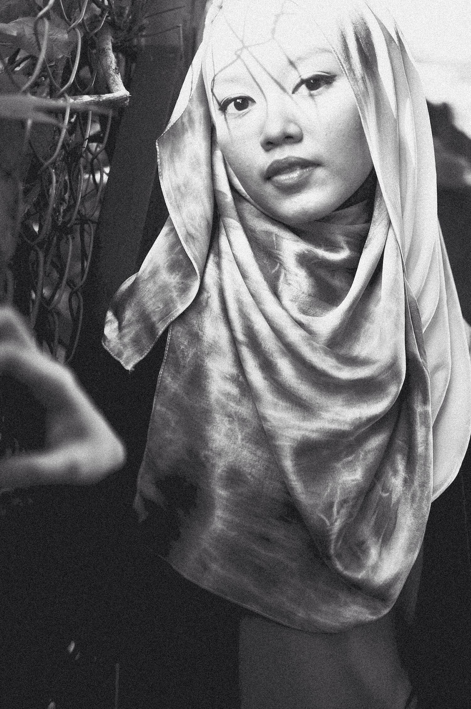 Tie dye scarves hijab style www haneimjphotoworks tumblr com