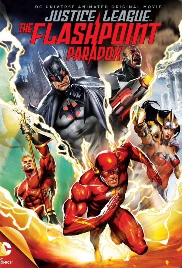 Justice League The Flashpoint Paradox Filmes Ponto De Ignicao