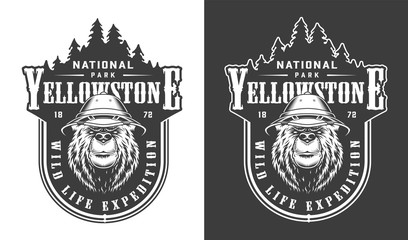 National Park Sign Stock Photos Royalty Free Images Vectors Video Yellowstone National Parks Yellowstone National Park