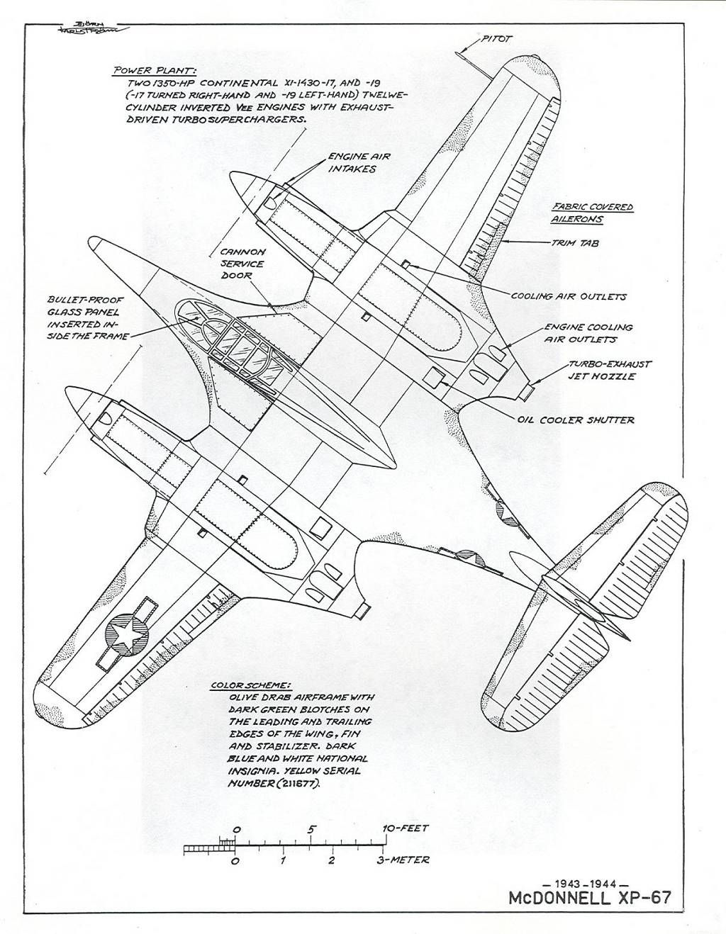 Vought xf5u details aerospace cutaways and diagrams pinterest cutaway aircraft and planes