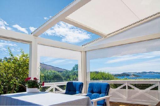 gardenplaza flexible terrassen berdachung erm glicht outdoor spa bei jedem wetter jederzeit. Black Bedroom Furniture Sets. Home Design Ideas