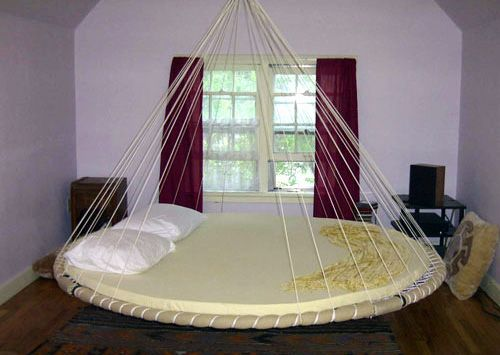 Catalog | The Floating Bed Co, what a cool round bed!