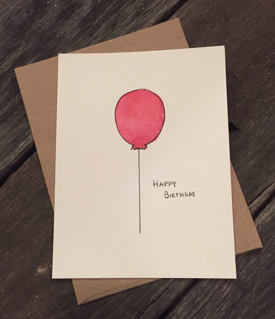 Watercolor Custom Birthday Cards Simple Birthday Cards Birthday