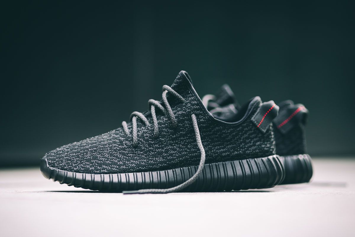 adidas Originals YEEZY BOOST 350 V2 Black/Red Official Store List