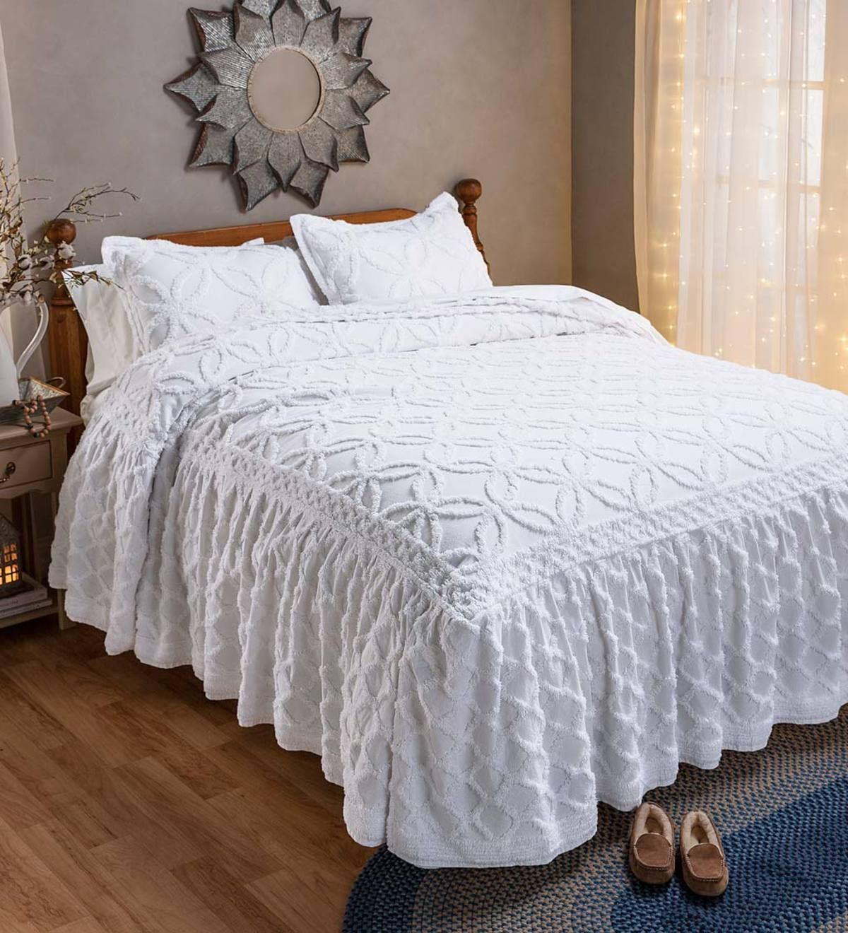 Harper Tufted Chenille Bedding