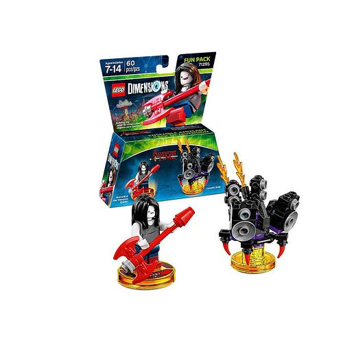 Toys R Us has upload the product listing for their exclusive LEGO Dimensions Adventure Time Marceline Fun Pack (71285).