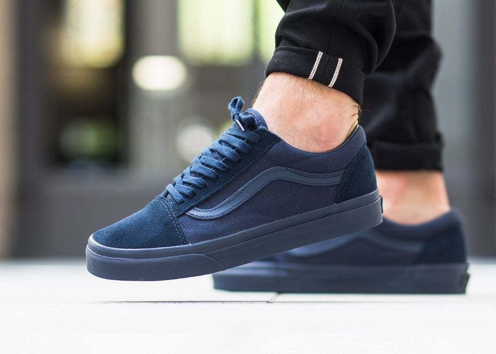 fe0a674aea Vans Old Skool Mono Dress Blues   Port Royale