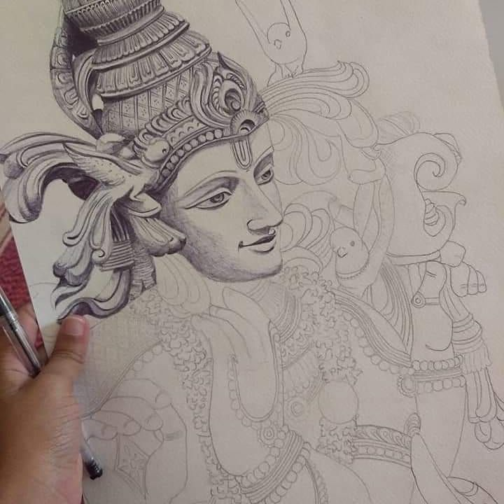 Pin by ZZ on Painting material | Female sketch, Painting, Art