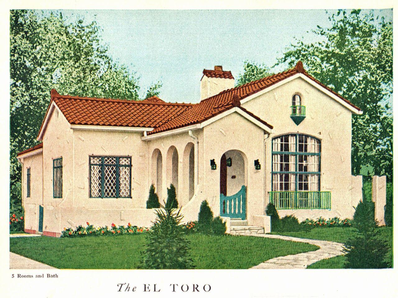 Spanish Colonial 2 Story House Plans Lovely Floor Spanish Revival Plans Design 1920 30s 2 Story Flori Spanish Revival Home Spanish Bungalow Spanish Style Homes