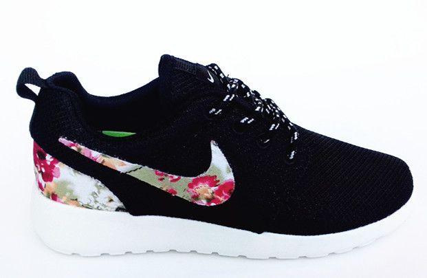 nike roshe run donna flower