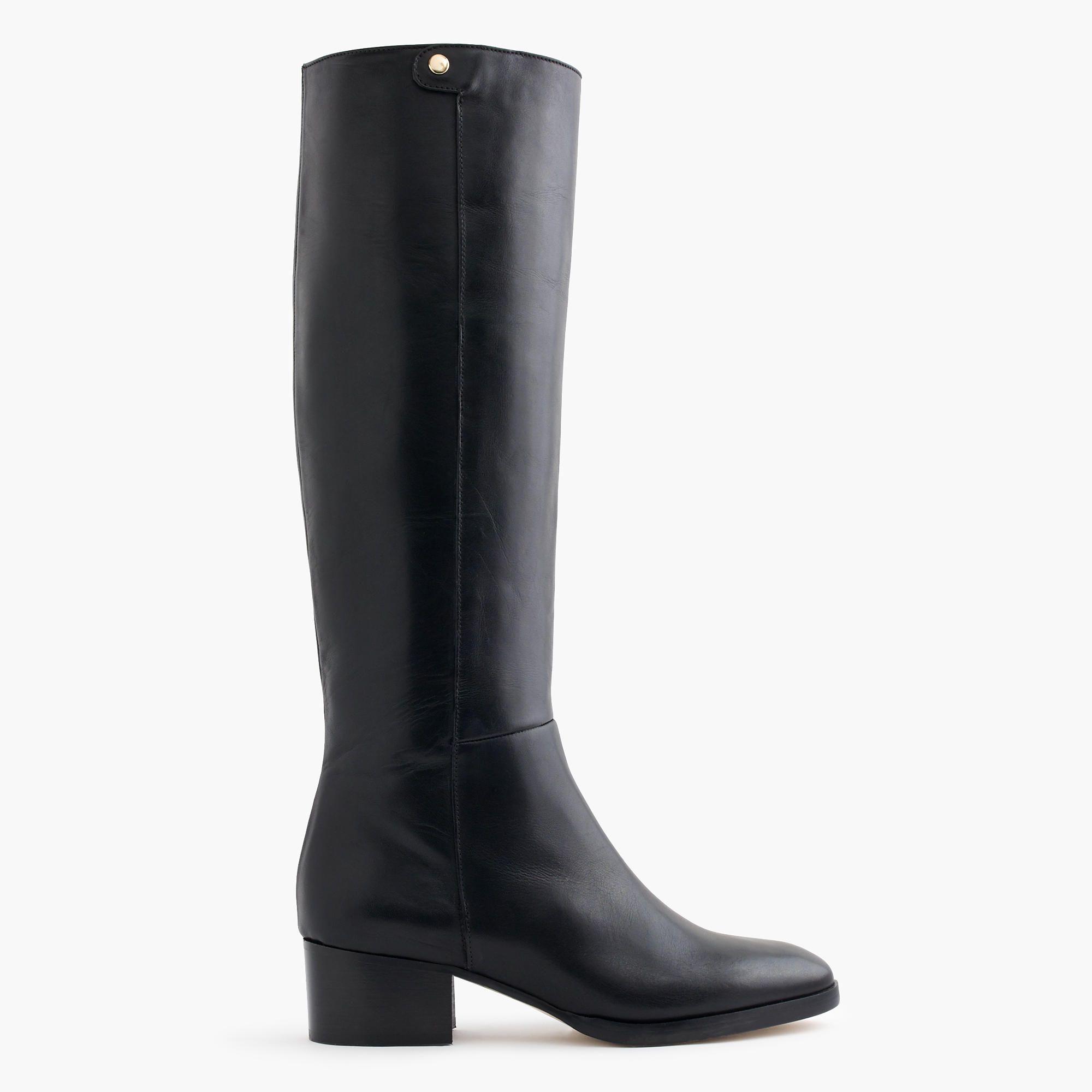 J.Crew - Leather knee boots