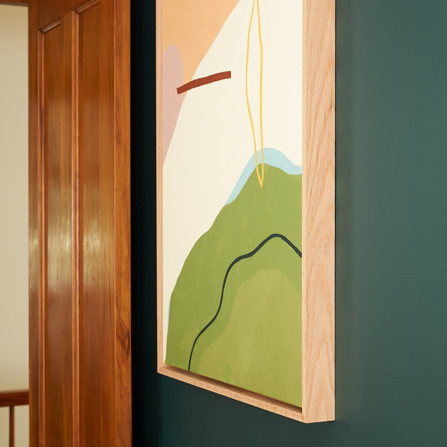 How to Make Your Own Canvas Float Frame Frames for
