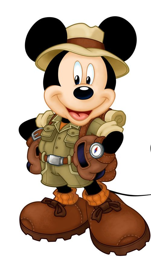 Mickey DISNEYWORLD Pinterest Mickey mouse, Mice and - copy mickey mouse safari coloring pages
