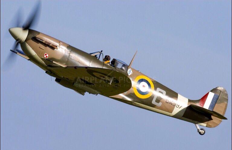 A WWII British Spitfire.