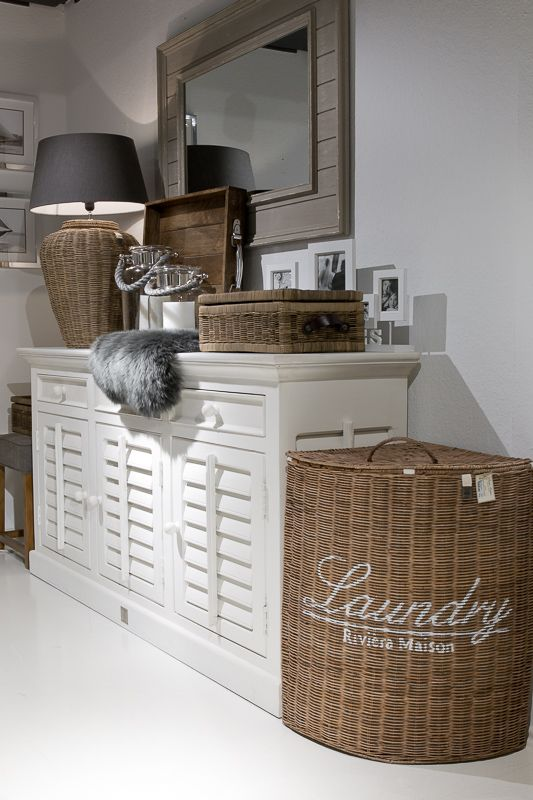 Photo of Idea for a laundry corner
