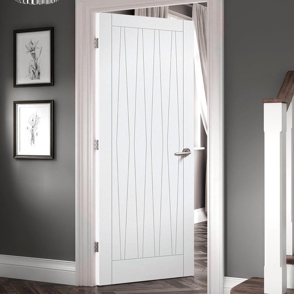 Costa Rica Flush Door 1 2 Hour Fire Rated White Primed Stylish And Well Priced Whitedoor Flushdoor Dengan Gambar Pintu