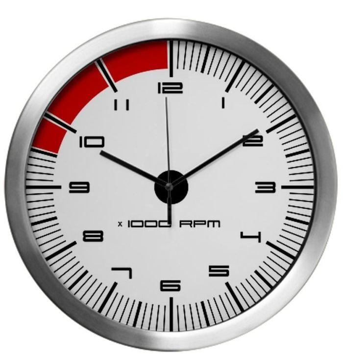 Porsche Carrera Tachometer Modern Wall Clock Wall Clock Modern Clock Wall Clock