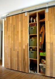 bamboo closet doors - Google Search