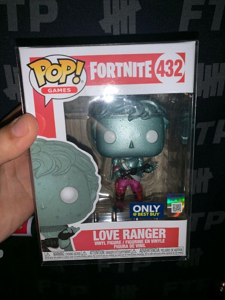 Funko Pop Games Fortnite Love Ranger Metallic 432 Best Buy