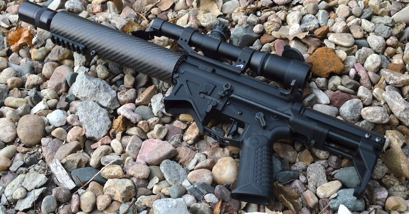 My Battle Arms Development PDW Registered SBR with an Aero