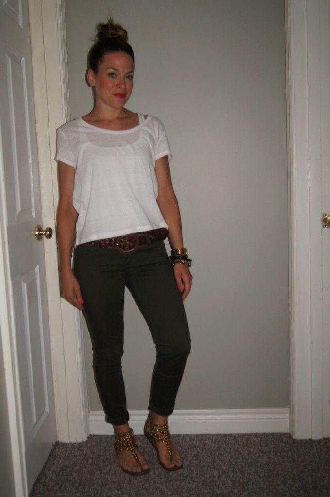 @OldNavyCanada Hunter Green Jeans ~ http://sextoninthecity.ca/hunter-green-jeans/ #SITC #greenjeans