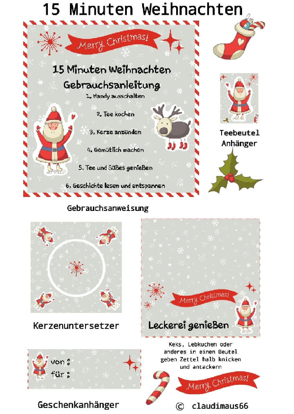 15 Minuten Weihnachten Anleitung.15 Minuten Weihnachten Eine Der Nettesten Weihnachts Geschenke