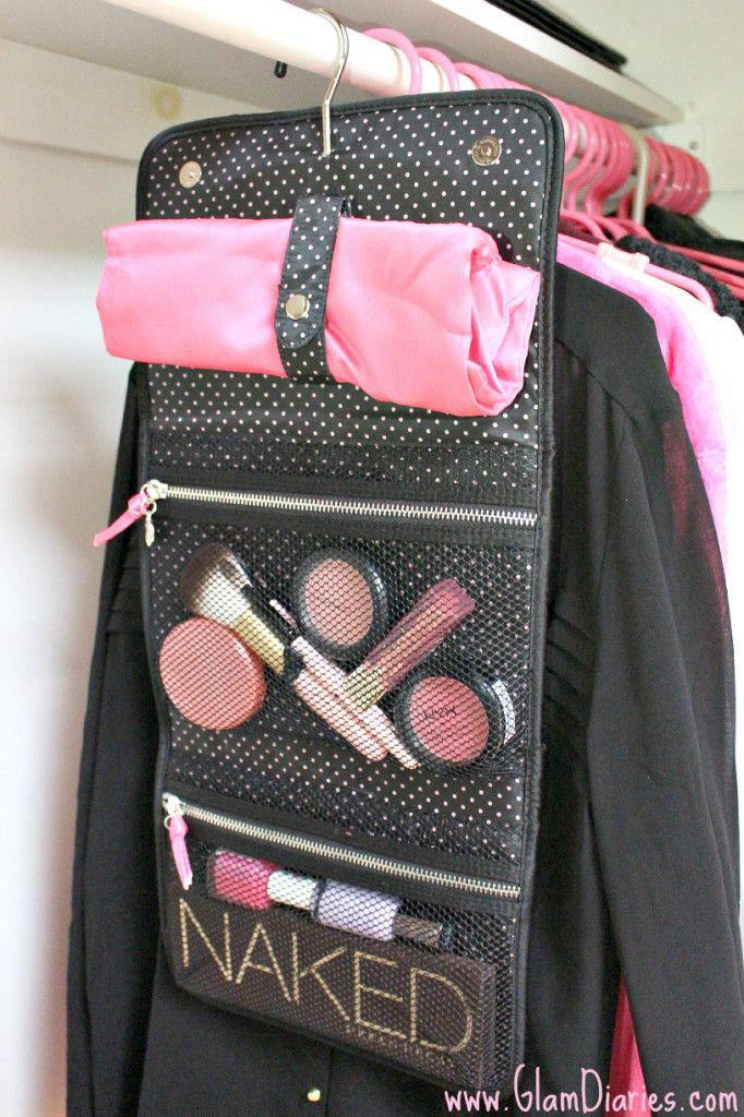 5b7c7cb4bd967 Victoria's Secret Travel Makeup Hanger Styled Pouch | Glam Diaries ...