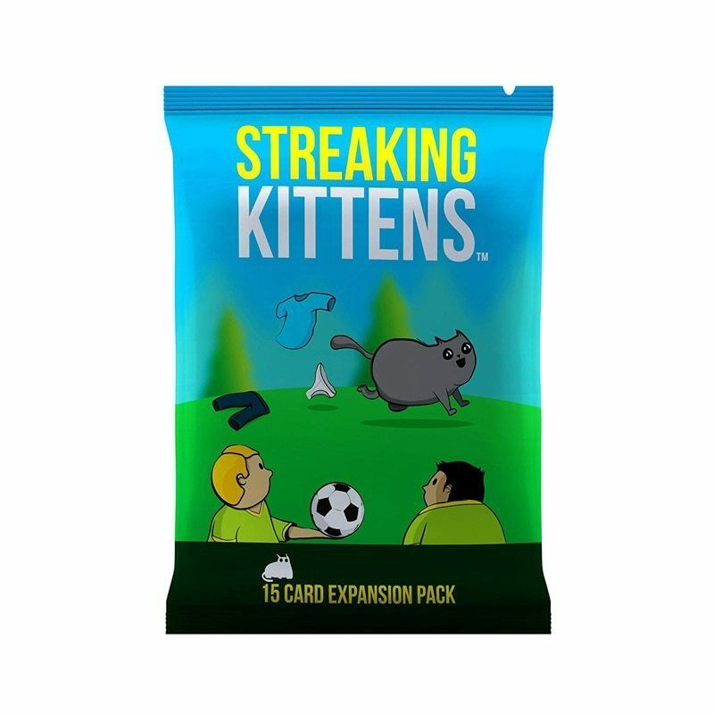 Adult Board Cards Game Streaking Kittens The Second Expansion Of