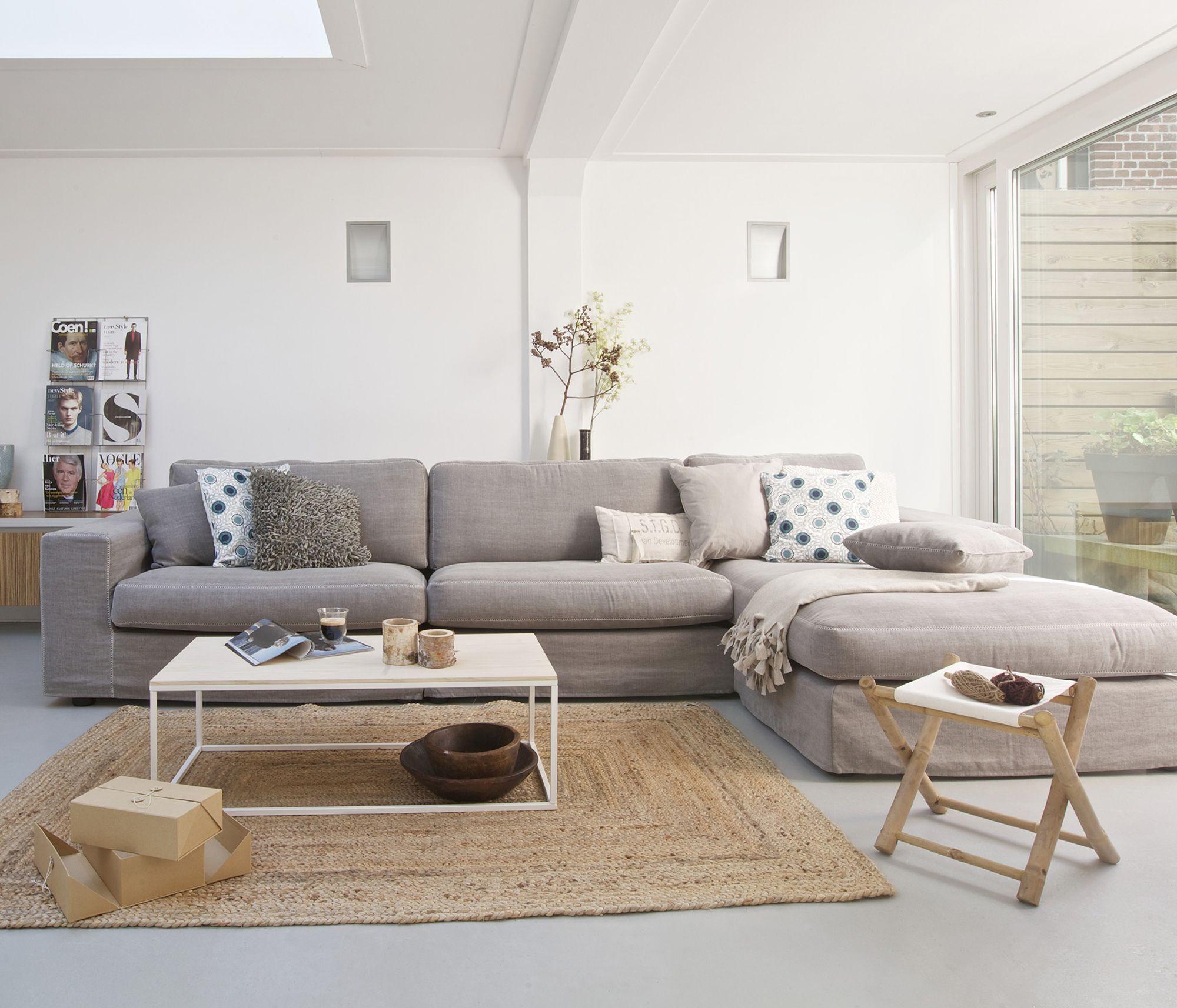 grijze loungebank Huisje Pinterest
