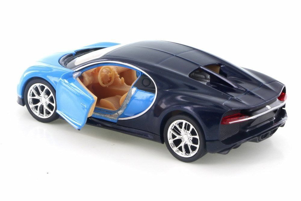 Welly Bugatti Chiron Blue Dark Blue 43738d 4 5 Diecast Model Toy Car Brand New But No Box Continuously The Item At T Bugatti Chiron Toy Car Diecast Models