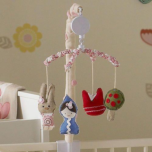 Lolli Living Scarlet Musical Mobile Living Textiles Babies R Us Musical Mobile Fairytale Nursery Lollies