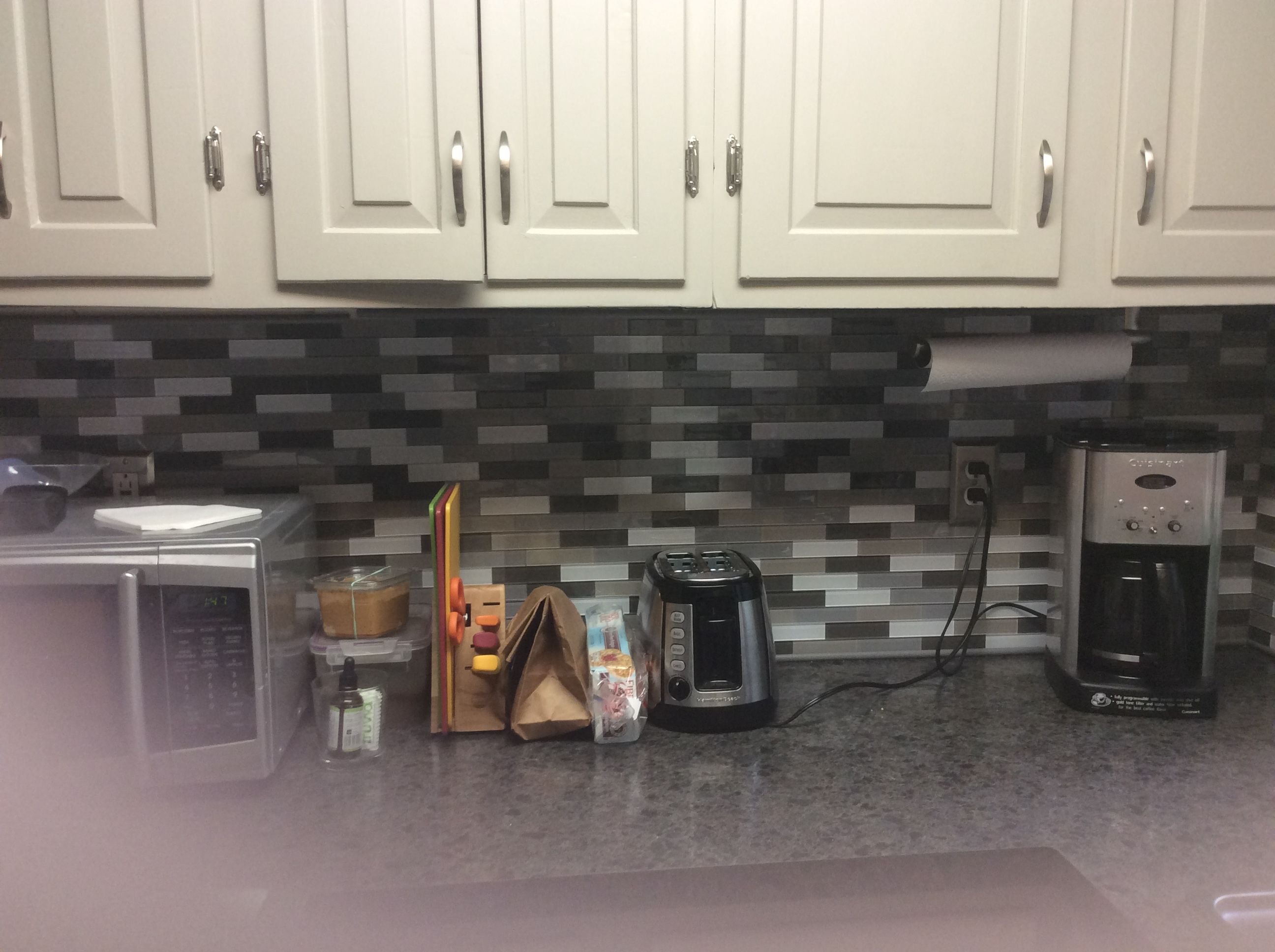 Jennifer from Plainville, CT installed our Rustic Clay ...