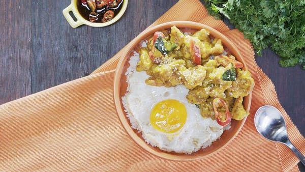 Ayam Saus Telur Asin Resep Resep Makan Malam Telur Makanan Dan Minuman