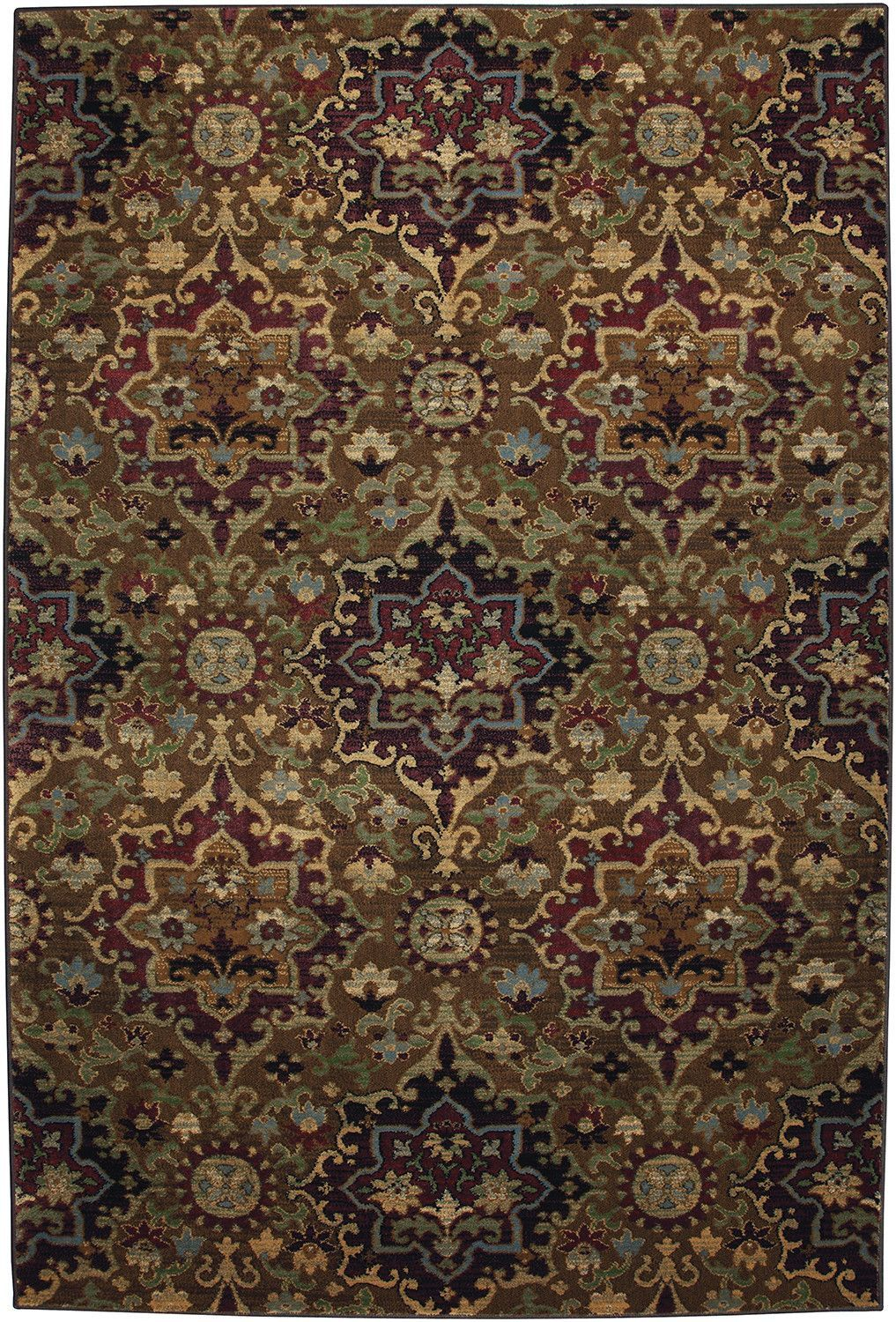 Cachet Casablanca Med Dark Gold Area Rug