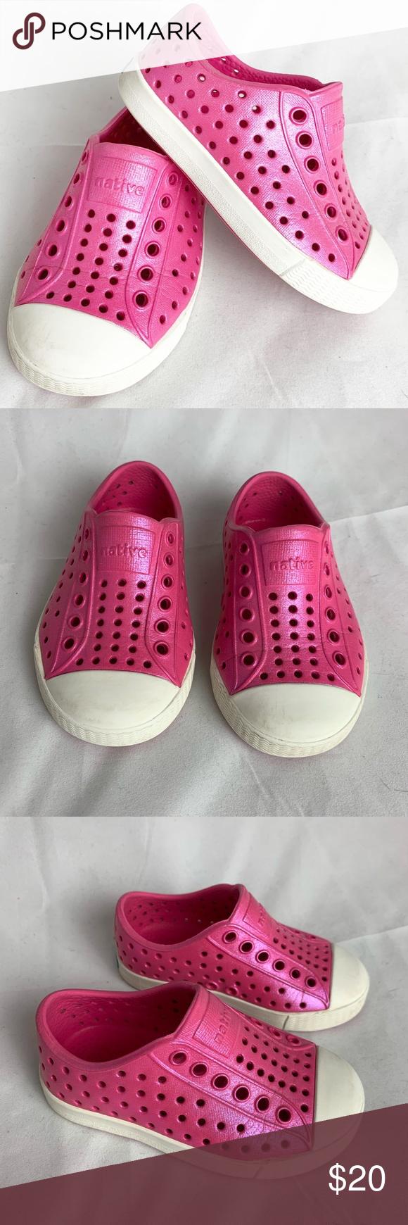 Native Pink Shimmer Shoes C5 | Native